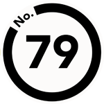 pin badge logo for No79 Design